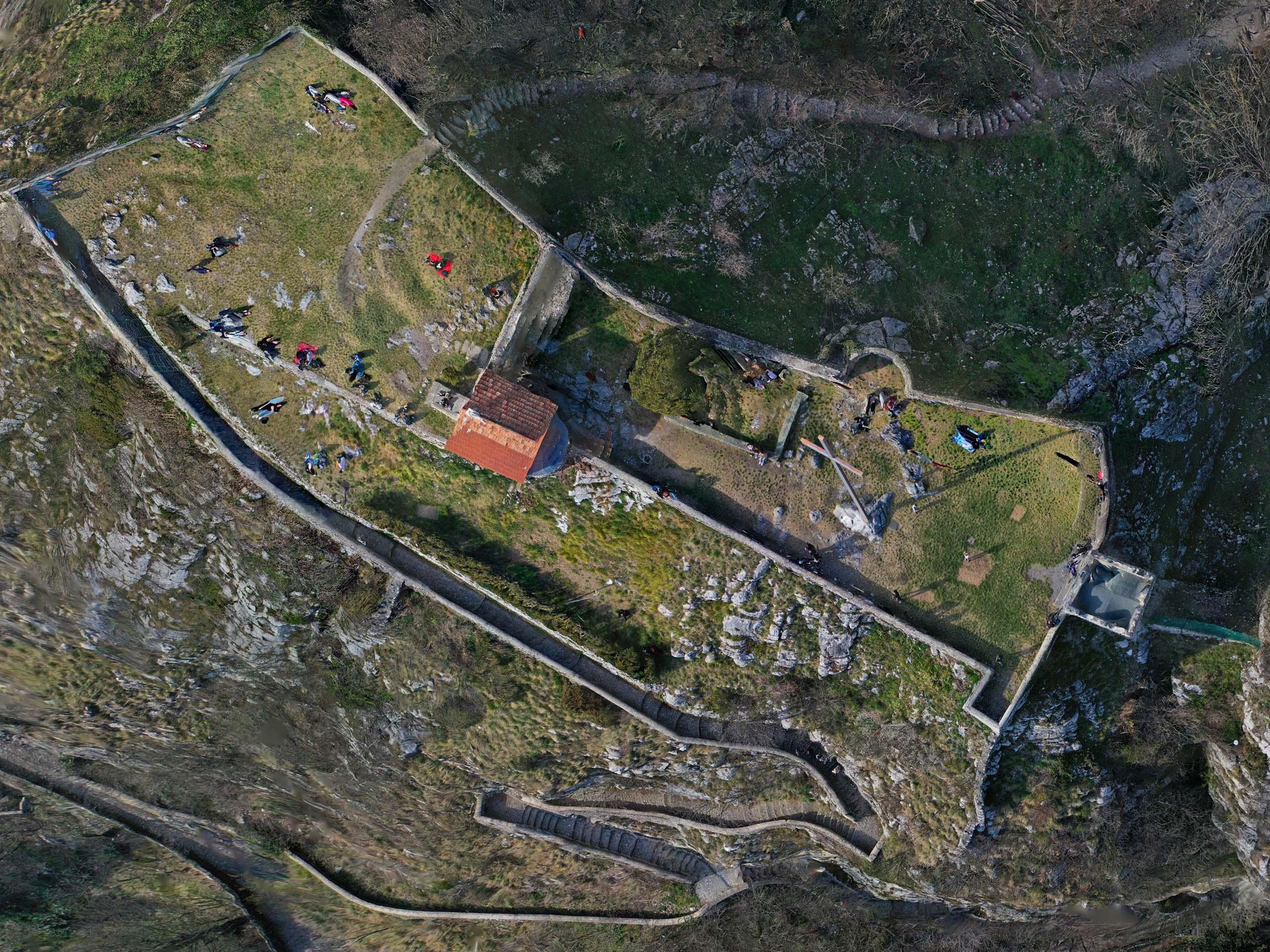 Castello dell'Innominato 3D